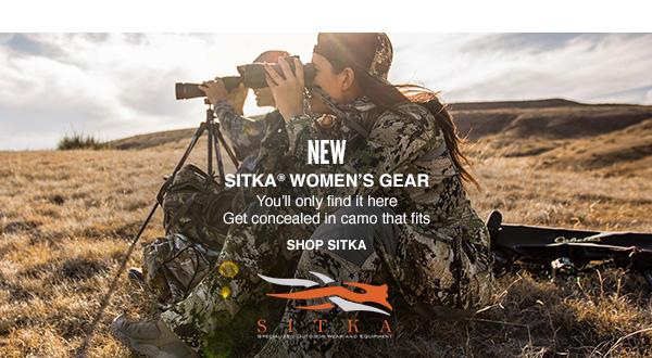 Shop NEW Women's SITKA® Gear